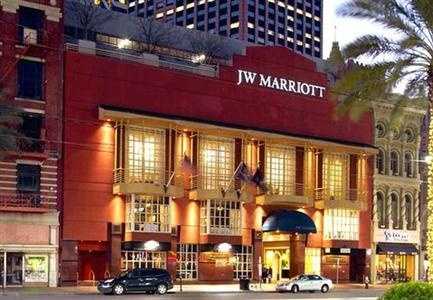 JW Marriott Hotel, 614 Canal Street, New Orleans, Louisiana United States - Click 'n Book Hotels
