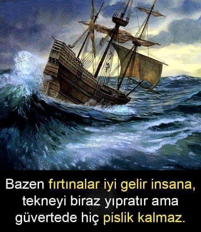Whatsapp Durum Sozleri 2019 Tekne Firtinalar Guzel Soz