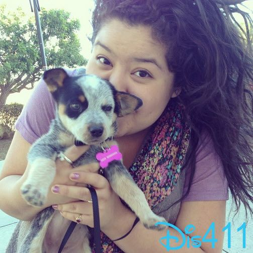 Photo: Raini Rodriguez Has A New Dog January 6, 2014