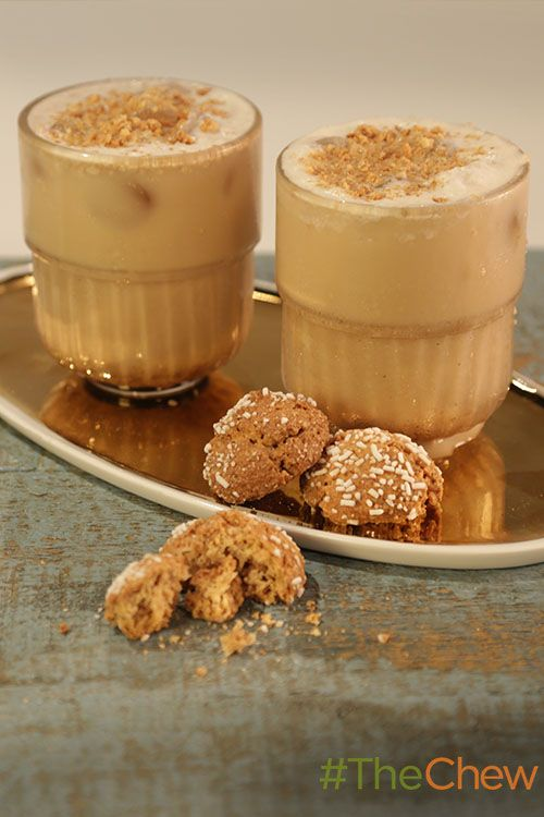 ... boozy Biscotti Iced Coffee creation in celebration of National Coffee