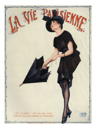 La Vie Parisienne, Magazine Cover, France, 1919