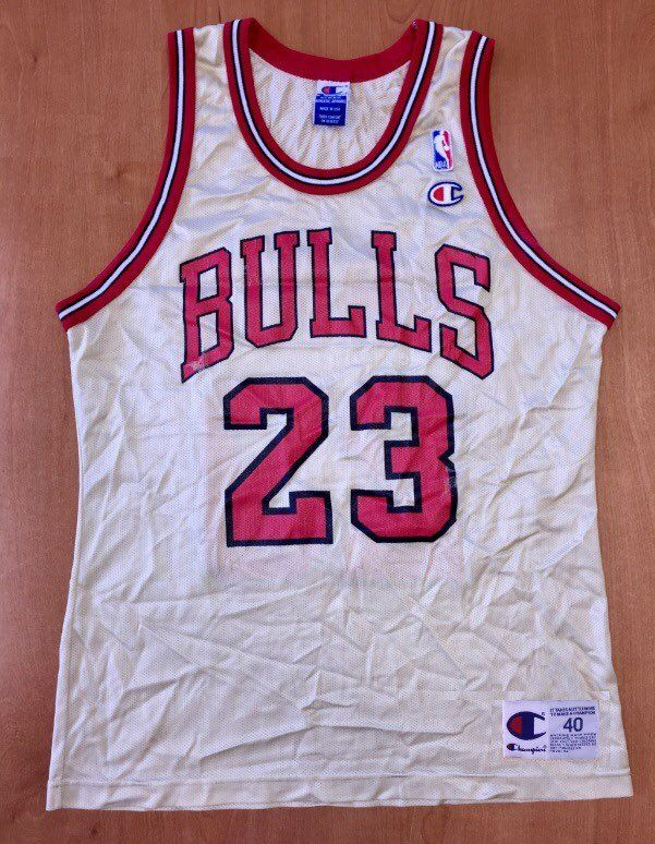 de134bc0c Vintage 1998 Michael Jordan Chicago Bulls Champion Gold Jersey Size 40 nba  finals hat shirt scottie pippen authentic air jumpman 45 by  BroadwayVintageLLC on ...