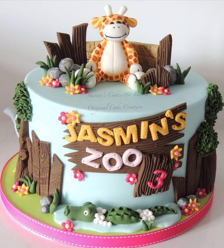 Best 20+ Zoo Animal Cakes Ideas On Pinterest