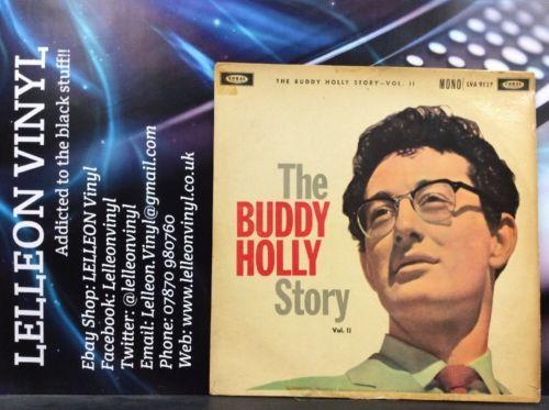 The Buddy Holly Story Vol II LP Album Vinyl Record LVA9127 1B2B Rock N Roll 50's Music:Records:Albums/ LPs:Rock:Doo Wop/ 50s Rock 'n' Roll