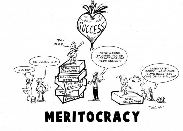 Image result for meritocracy meme