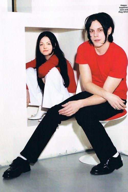 The White Stripes - Jack and Meg White