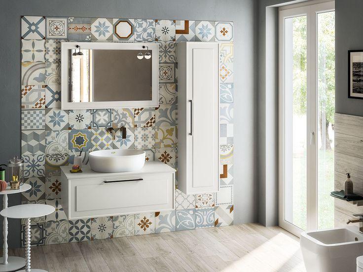 642 best gres porcellanato images on pinterest bath bath room and bath tub - Cementina bagno ...