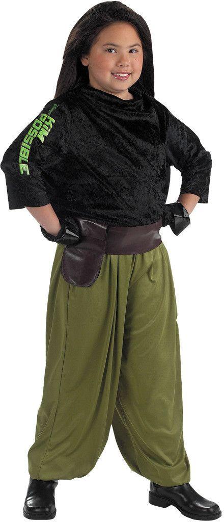girl's costume: kim possible agent