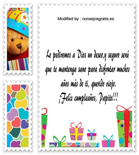 descargar mensajes bonitos de cumpleaños para mi Papà,mensajes con imàgenes,mensajes de texto de cumpleaños para mi Papà: http://www.consejosgratis.es/mensajes-de-cumpleanos-para-papa/