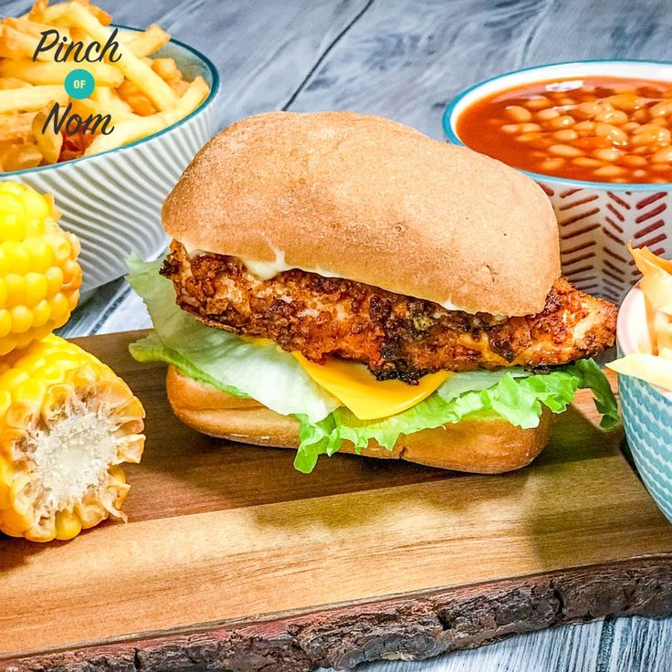 One of our favourite choices from the KFC menu used to be the zinger burger - this Low Syn KFC Zinger Burgers recipe is the perfect Slimming World friendly replacement!