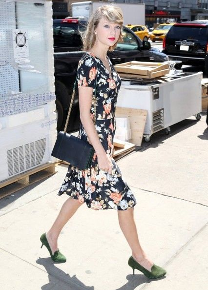 """""""22"""" singer Taylor Swift spotted out and about in New York City, New York on April 28, 2014."""
