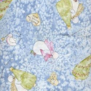 Red Rooster - Blue Snowman Toss - cotton fabric