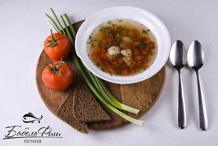 """В одесском ресторане """"Бабель Фиш"""", любителям интересных кулинарных решений рекомендуем попробовать блюда из ракообразных и выбрать наиболее желанный способ приготовления - будь то гриль или бузара - суп или сотэ в сырном ( томатном или сливочном соусе).  Например Бузара - суп - красный. На Ваш выбор набор морепродуктов - креветки, мидии, кальмар - бэби, гребешок. На основе рыбного бульона и томатной базы  #ресторан   #одесса  #od.restorania.com"""