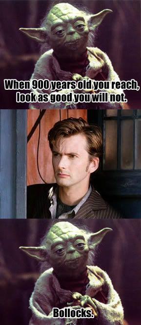 Yoda got owned!