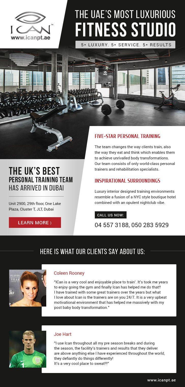 Email for I CAN elite fitness club in Dubai.Online preview: https://demo.tokki-team.it/ican/#tokki_team, #tokki_team_portfolio, #promo