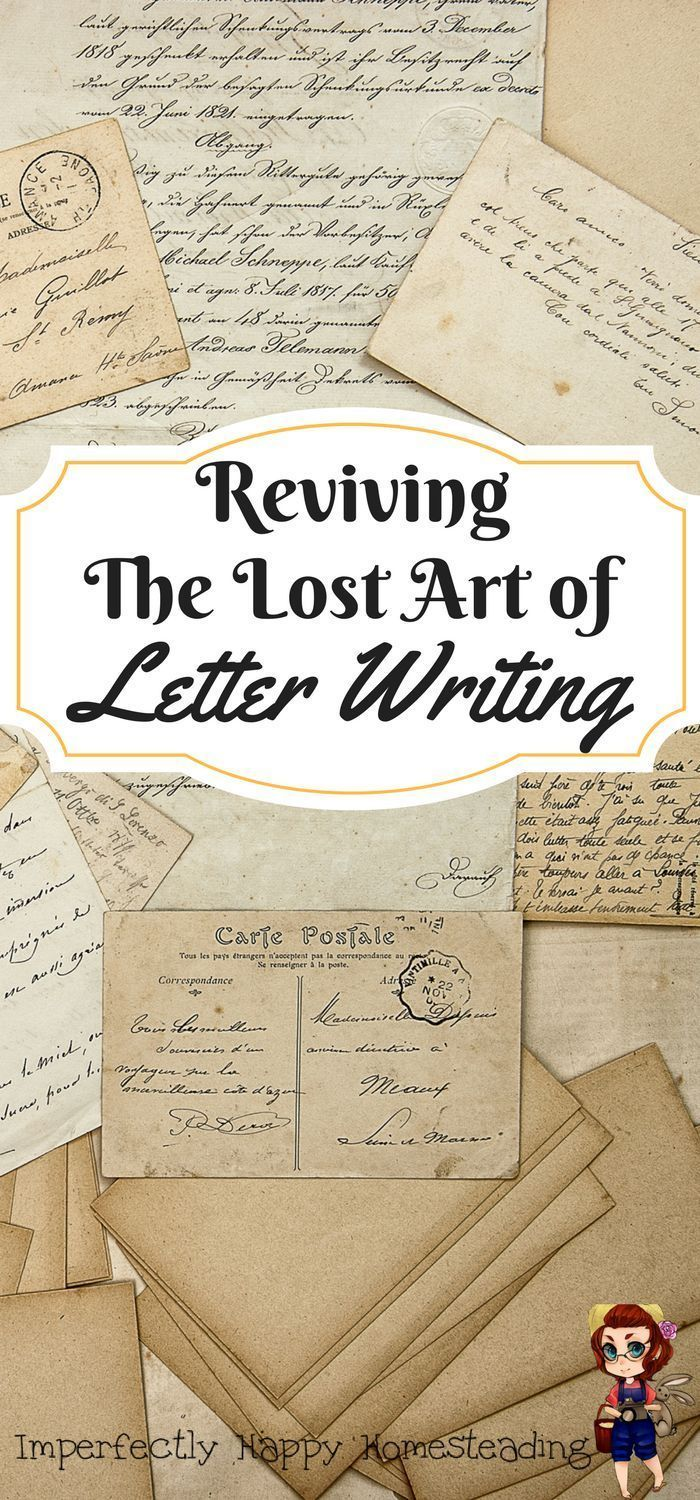 The Lost Art of Letter Writing 156