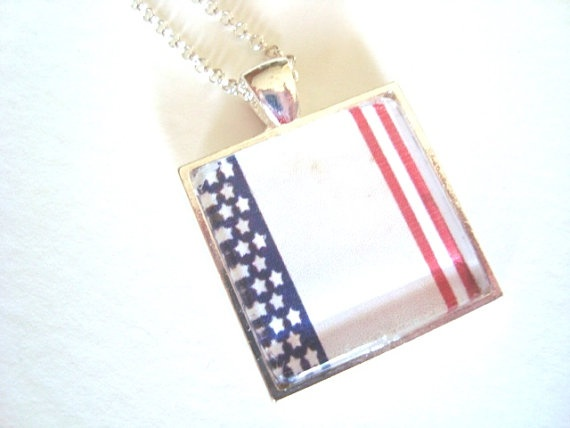purses for sale Flag pendant patriotic jewelry Memorial Day jewelry military
