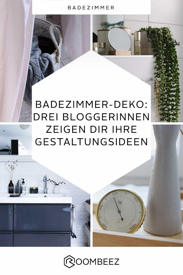 Badezimmer Deko 3 Bloggerinnen Geben Tipps Home Bathroom Badezimmer Badezimmer Badezimmer Deko Und Badzimmer Ideen