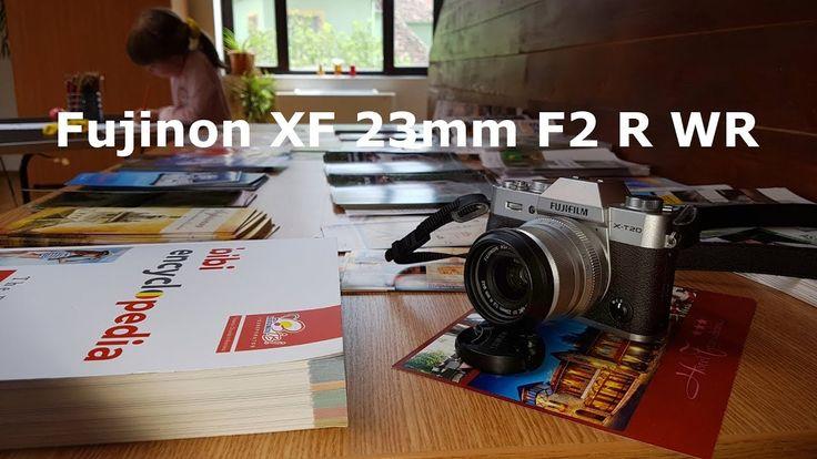 Este bun obiectivul foto Fujifilm Fujinon XF 23mm F2 R WR pentru video?