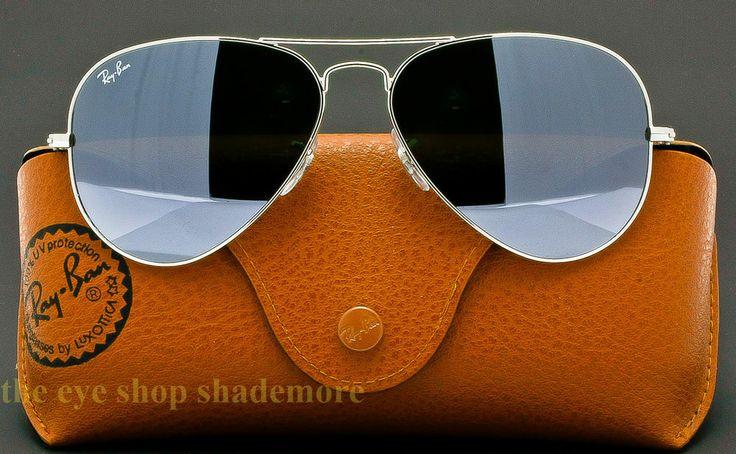 ray ban sunglasses aviator silver
