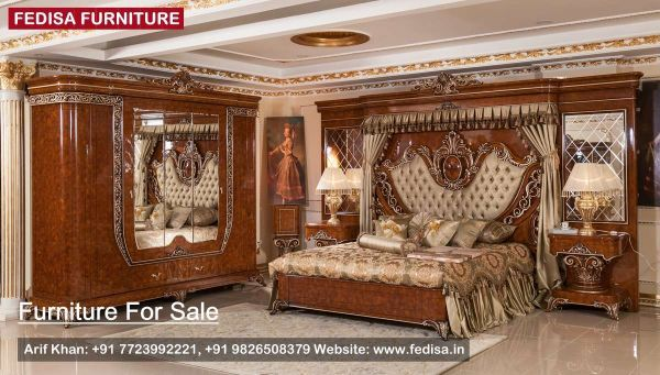 Pin By Zoubir Benamara On Classic Bed Bedroom Furniture King Size Bed Queen Size Bed Ashley Furniture Bunk Beds King Bedroom Furniture Furniture Wooden Sofa Set