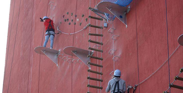 Kletterturm in Brühl, Raum Köln in NRW #Spielturm #Sport #klettern