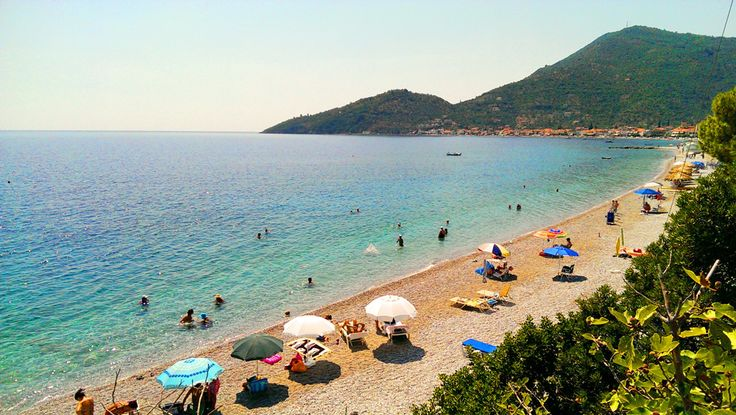 Summer moments on the beach that is next to our hotel in Tyros Peloponnese Greece. A very nice area for your vacations!