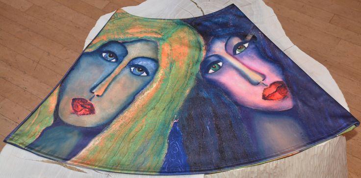 Skirt by Anelia-Art- Sisters