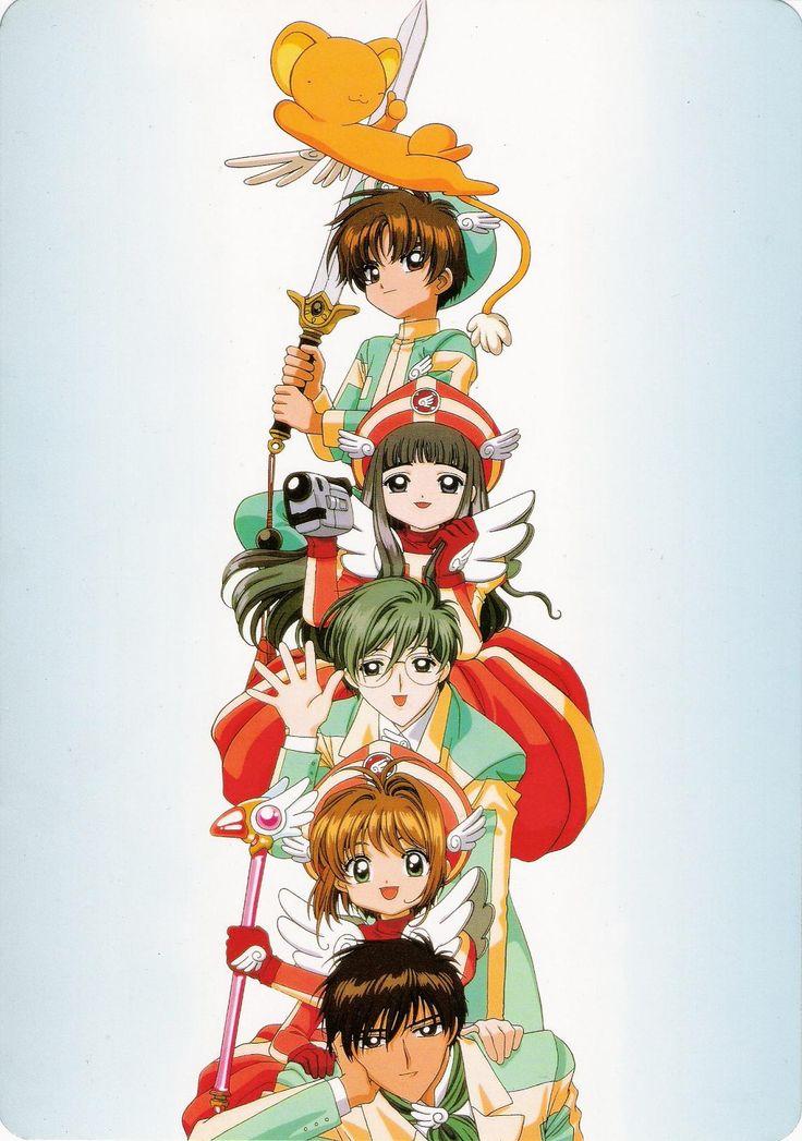 Cardcaptor Sakura   CLAMP   Madhouse / Kinomoto Sakura, Daidouji Tomoyo, Keroberos (Kero-chan), Li Shaoran, Kinomoto Touya, and Tsukishiro Yukito