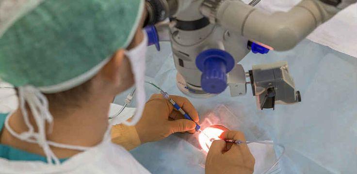 Удаление эпиретинальной мембраны – это хирургическое вмешательство по иссечению находящейся над макулой патологической пленки. Подобная процедура назначается в случае значительного снижения зрения пациента и имеющемся риске возникновения в области желтого пятна необратимых нарушений.  Операция по удалению эпиретинальной мембраны выполняется в несколько этапов. Не первом этапе проводят ревизию внутриглазной полости, затем удаляют стекловидное тело, а после осуществляется непосредственное…