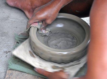 Damili(pottery)-making San Nicolas