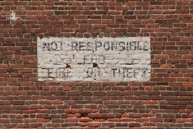 Brick Wall With Painted Sign Free Stock Photo - Public ...
