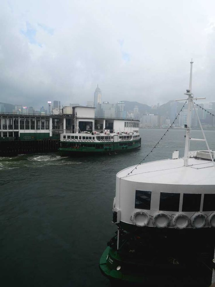 The Star Ferry - one of the most iconic ferry in the world in Hong Kong