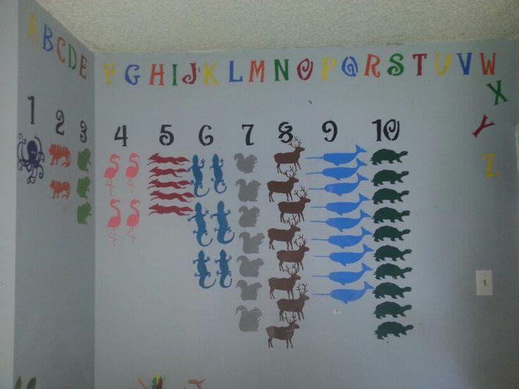 My idea--ABC 's and 123 Animals