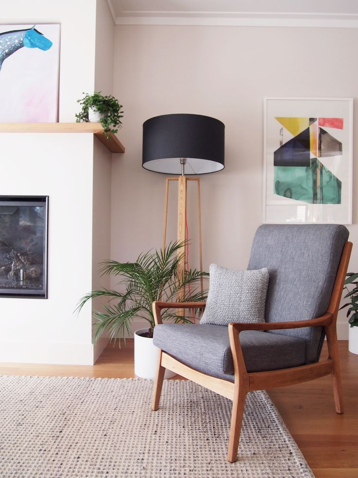 Re upholstered Parker chair in Scandinavian style. Photo whiteandwander
