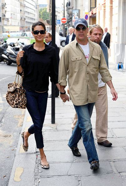 Bruce Willis Emma Heming-Willis - Bruce Willis and Emma Heming Shop in Paris