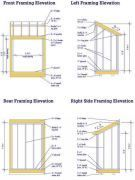 6x4 lean to shed plans