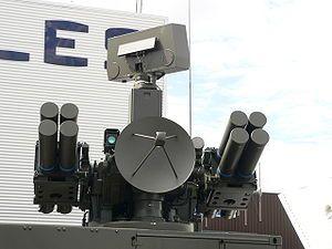 Crotale missile sistem. France.