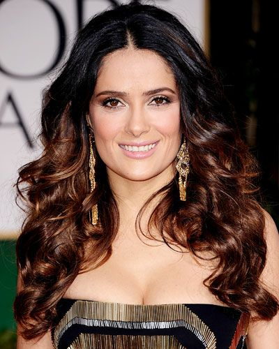 Salma Hayek. Salma is a famous actress and is in many American movies such as her most recent, Grown Ups.
