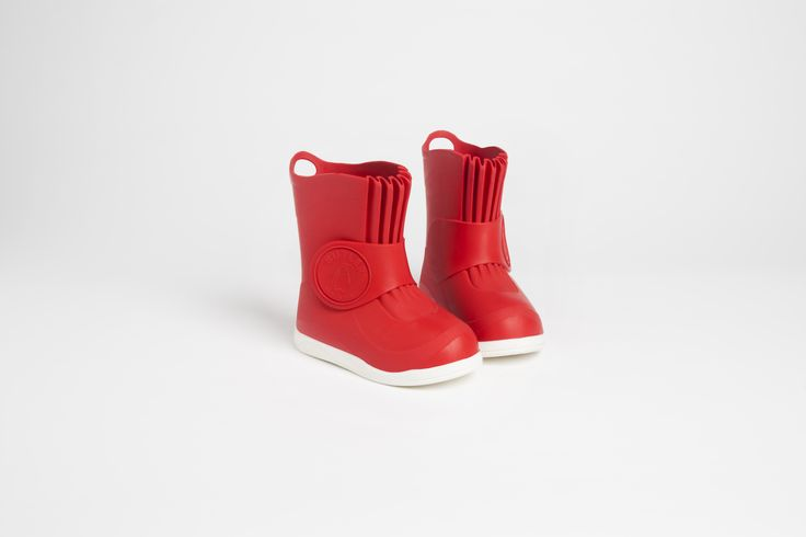 How about our cheery red boots for a Christmas gift?