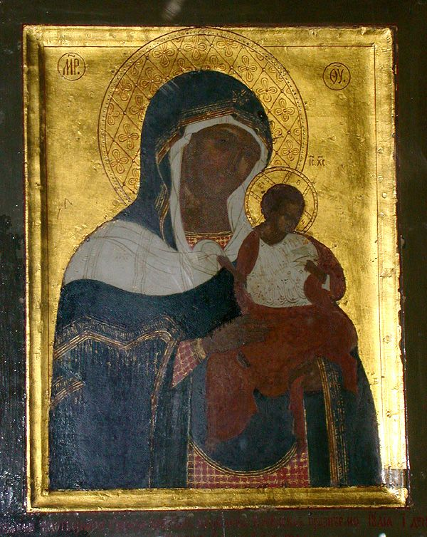 Icon of the Mother of God of Konevits