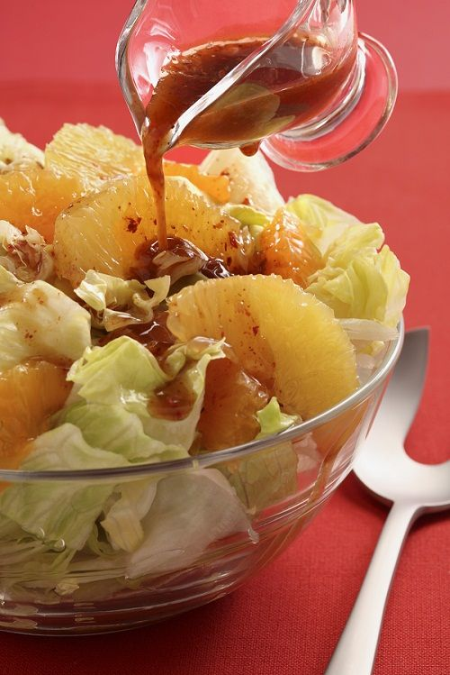 Ensalada con vinagreta de t negro ensaladas pinterest - Ensaladas gourmet faciles ...