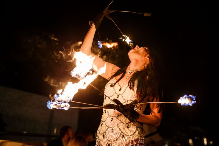 Rydges South Bank | Functions and Events | Soleil Pool Bar | Fire Breathing