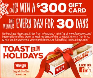 Enter To Win A $300 Gift Card!
