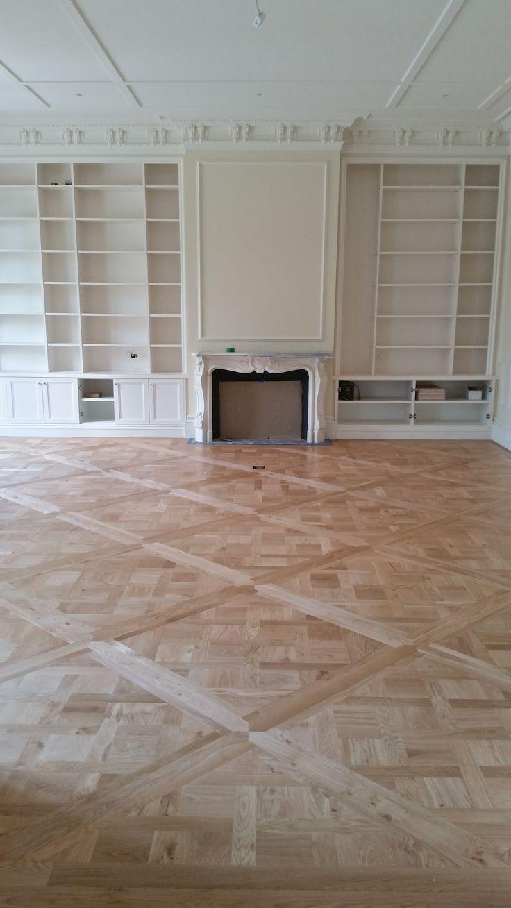 Grand Versailles parquet - Natural oak colour Toorak home