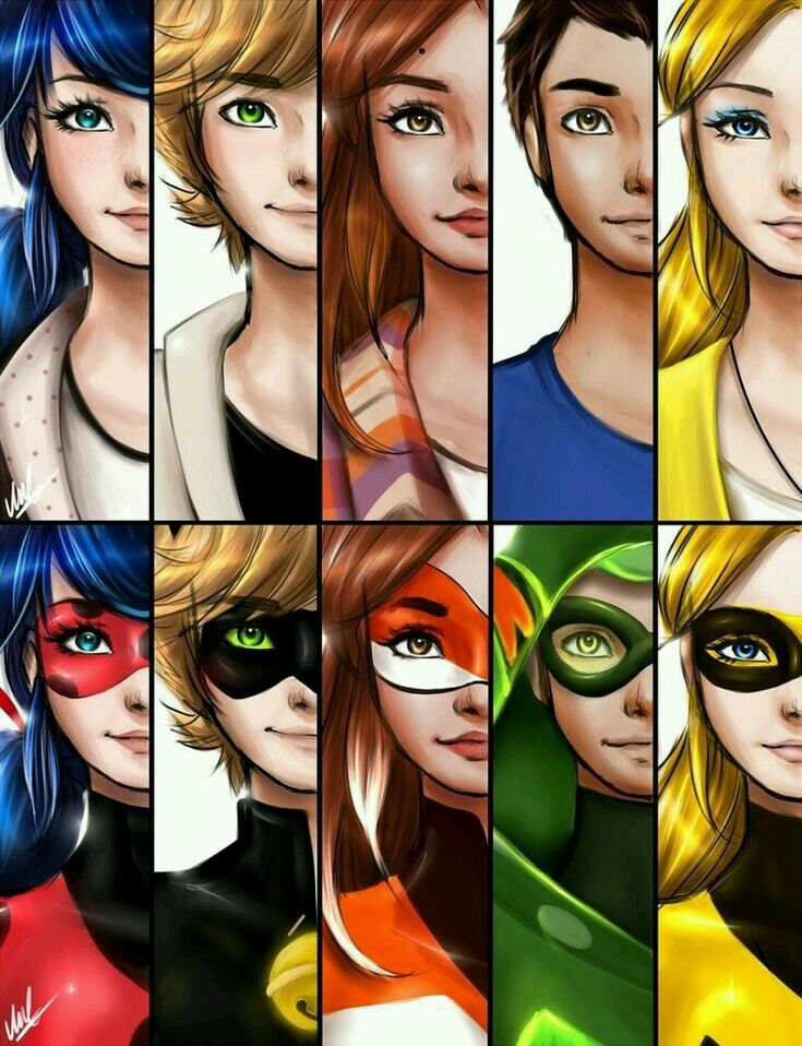 All my fav superheroes!!!! | Miraculous world in 2019
