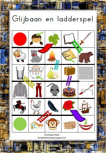 Groep 1/2   Werkgebied: taal   Thema: rijmen     benodigdheden:   - pion voor elk kind   - dobbelsteen   - het speelbord op A3 formaat (kl...