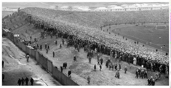 111 000 at Hampden Park for Scotland vs England 1927