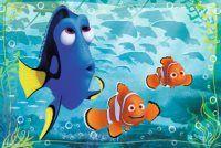 Puzzle Hledá se Dory: Marlin a Nemo 54 dílků