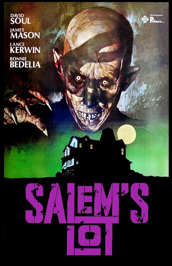 Salem's Lot (1979)  I saw this when I was about 6....trust me, it left a mark!!